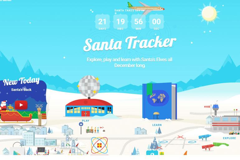 Google Navidad