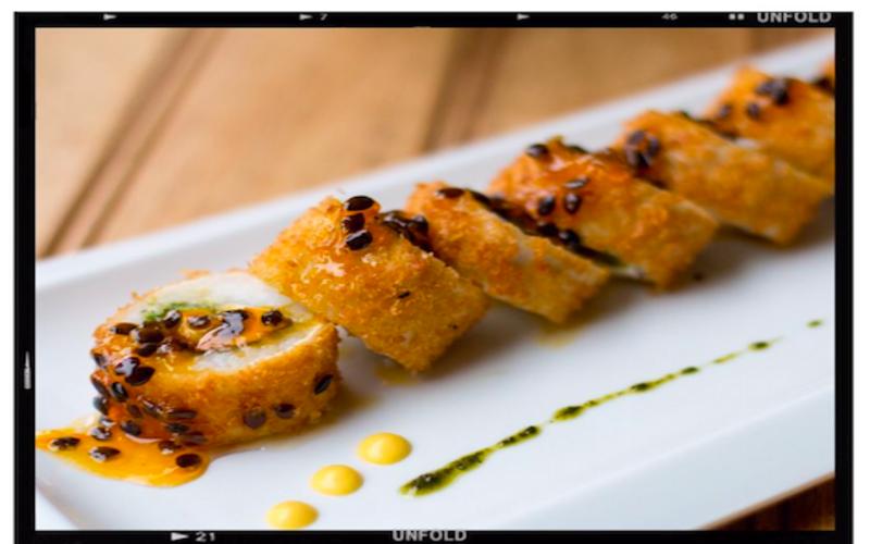 Fotografía de sushi