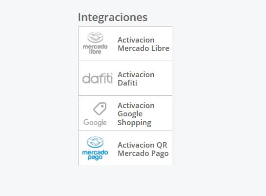 Integración con Mercado Pago como canal de venta adicional