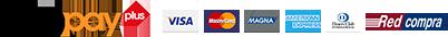 medios de pago webpay, tarjetas