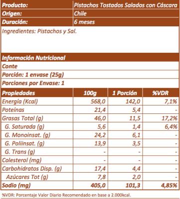 Imagen 3 - Pistacho Tostado Salado con Cáscara