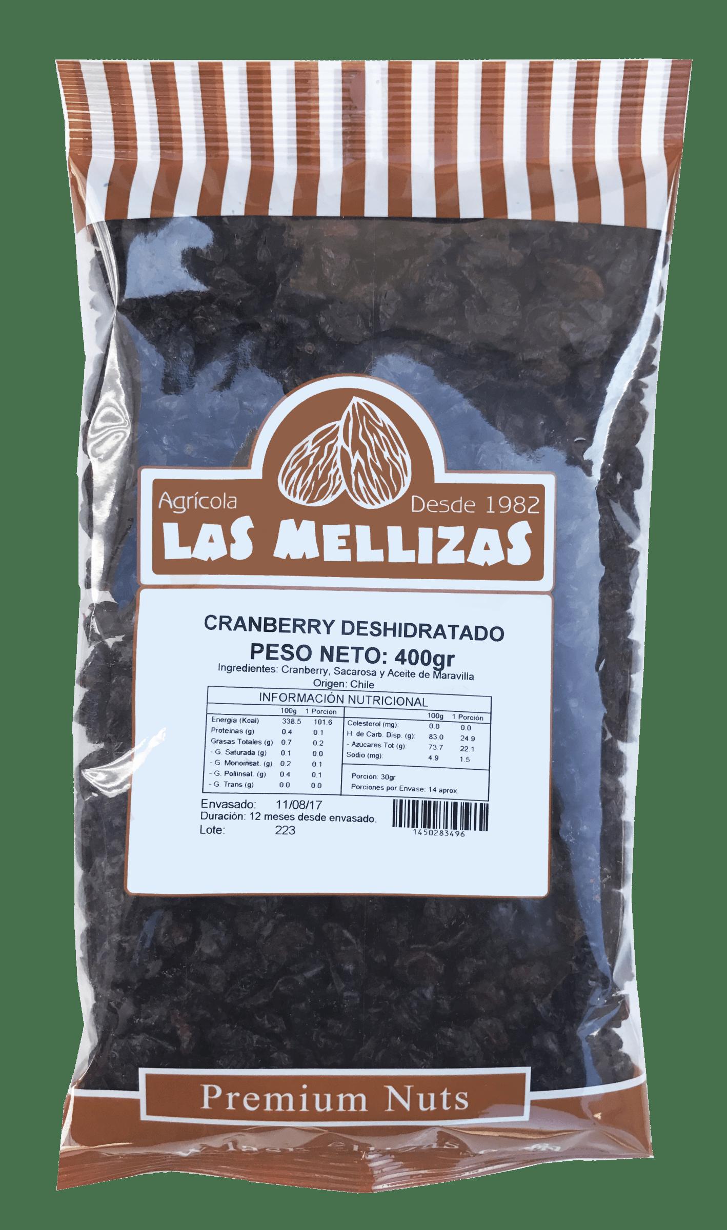Cranberry Deshidratado PB