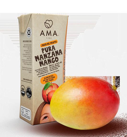AMA Jugo Manzana Mango