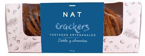 NAT Crackers - Dátiles y Almendra
