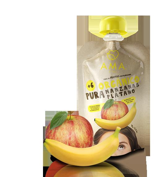 AMA Pure Manzana - Plátano
