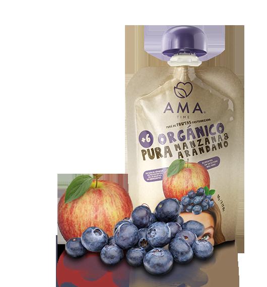 AMA Pure Manzana - Arándano