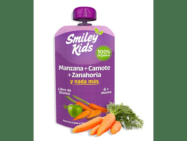 Pure de Manzana, Camote y Zanahoria