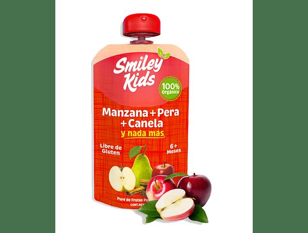 Pure de Manzana, Pera y Canela