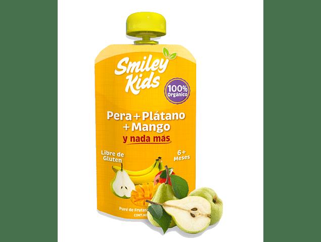 Pure de Pera, Plátano y Mango