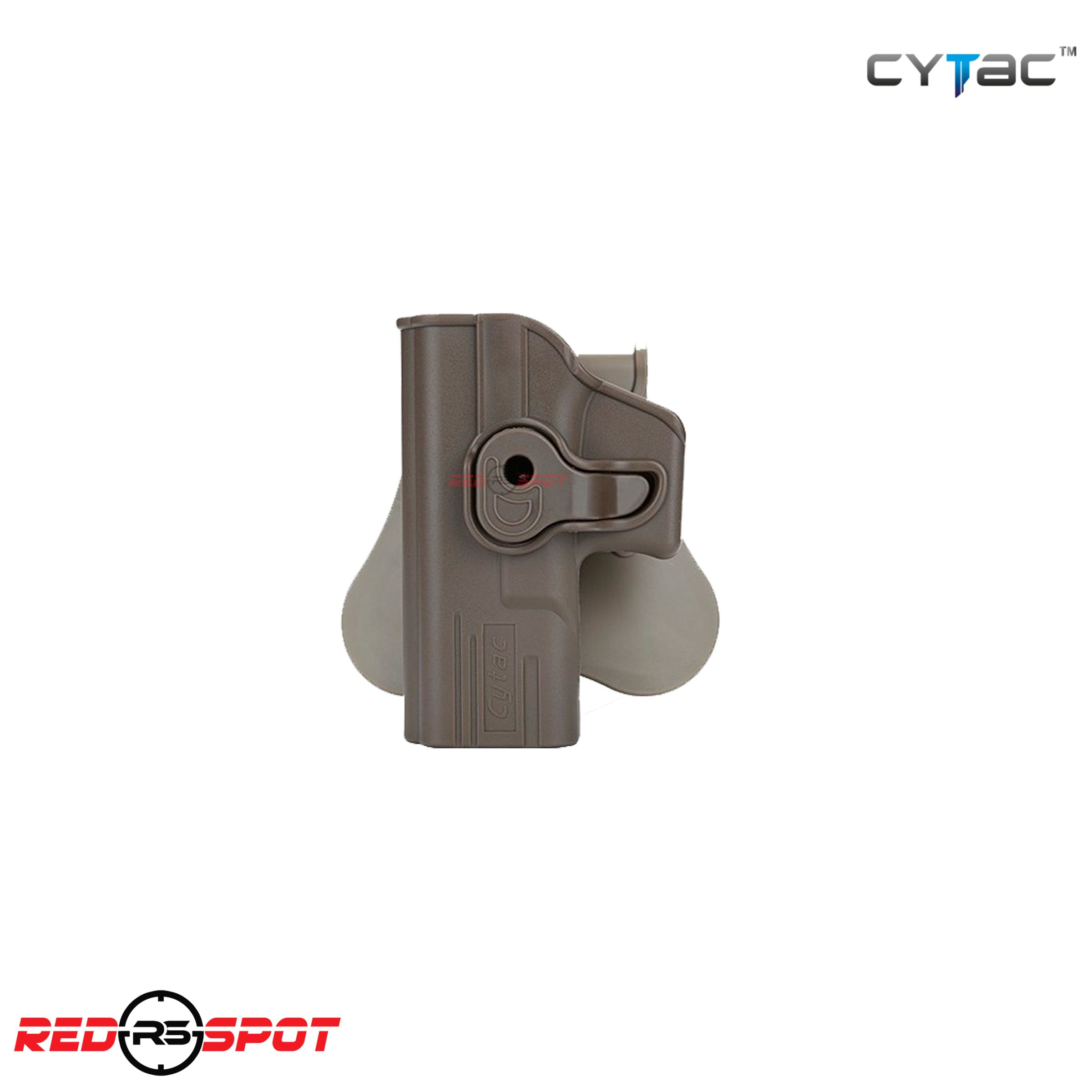 CYTAC HOLSTER GLOCK 19/23/32 ZURDO FDE