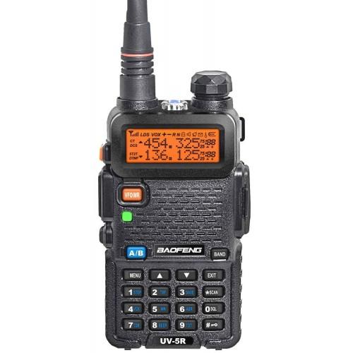 RADIO BAOGFENG UV-5R UHF/VHF NEGRA