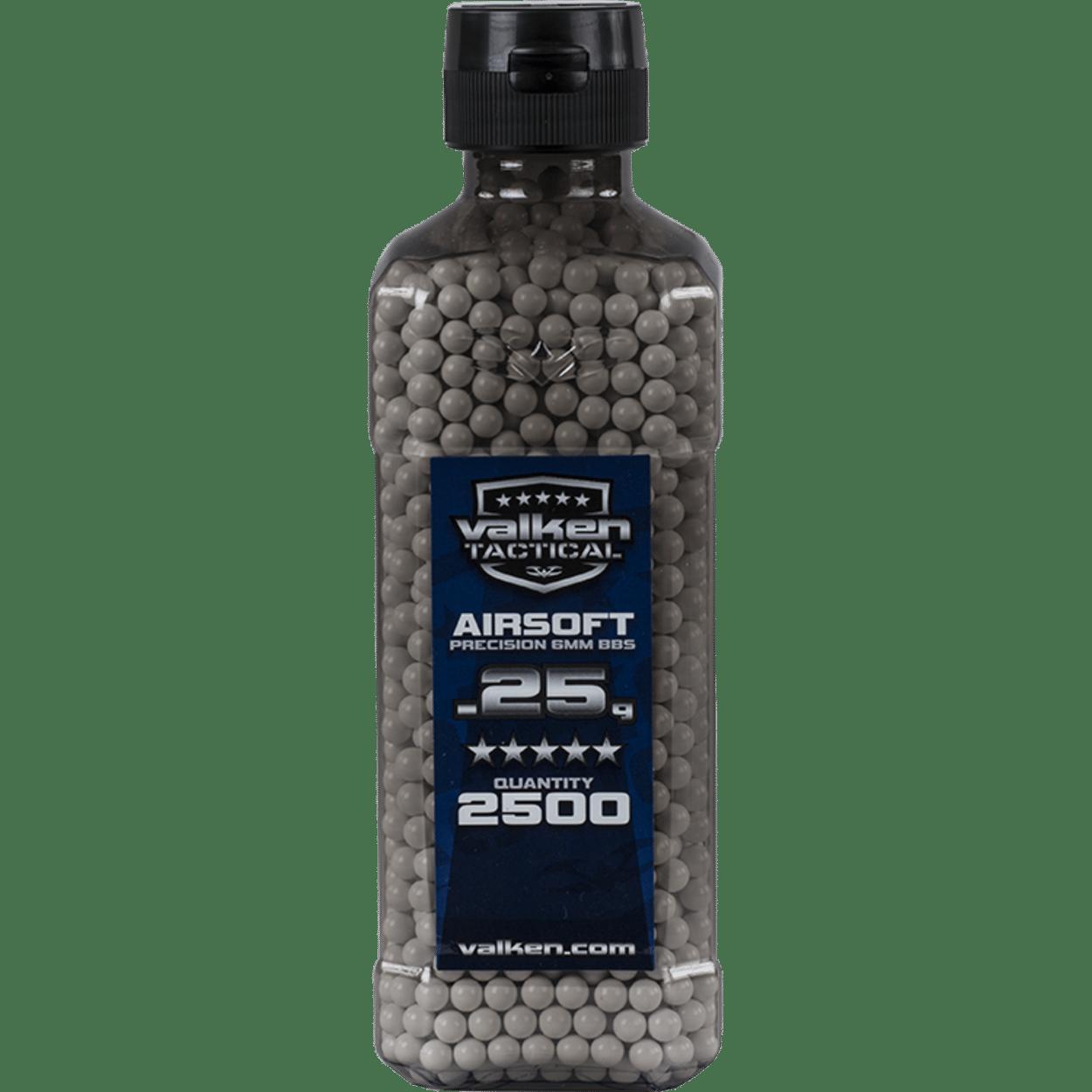 BBs - V Tactical 0.25g-2500ct Bottle-White