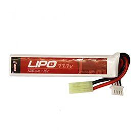 ECHO1 Lipo #1: 11.1V 1100mAh 15C Buffer Tube Lipo