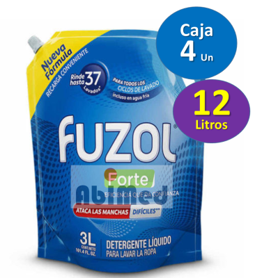 DETERGENTE LUIQUIDO FUZOL FORTE 1