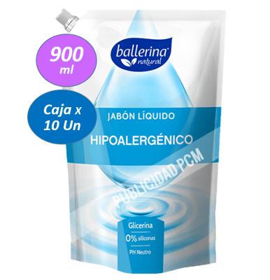 JABON BALLERINA HIPOALERGENICO1