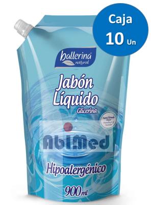 JABON HIPOALERGENICO BALLERINA Cj x 10 Un1