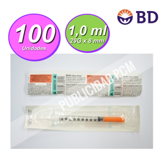 JERINGA INSULINA BD 29G - Vol 1 ml