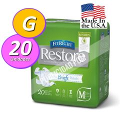 PAÑAL ADULTO FITRIGHT RESTORE G