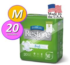 PAÑAL ADULTO FITRIGHT RESTORE M