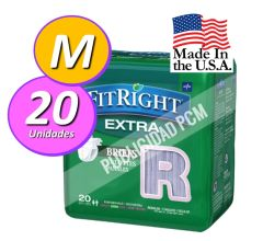 PAÑAL ADULTO FITRIGHT ULTRA M