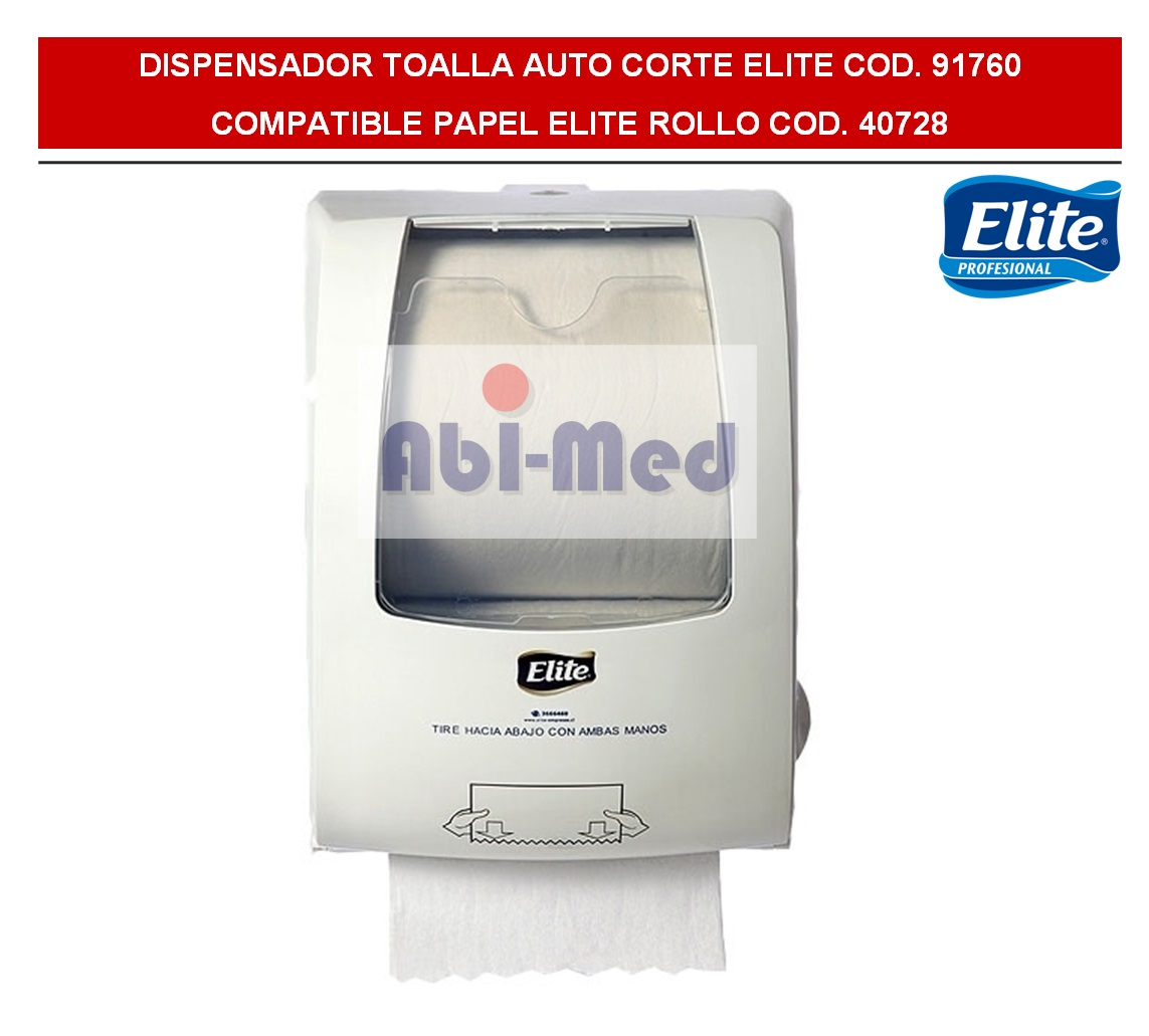 DISPENSADOR TOALLA MANO JUMBO