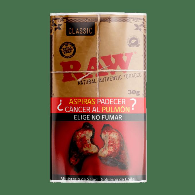 Tabaco Raw Classic 30 grs