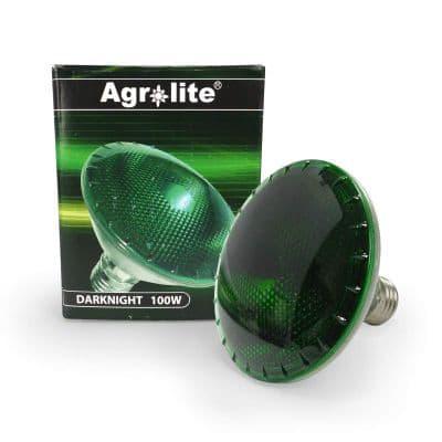 Ampolleta agrolite 100w Verde (Dark Night)