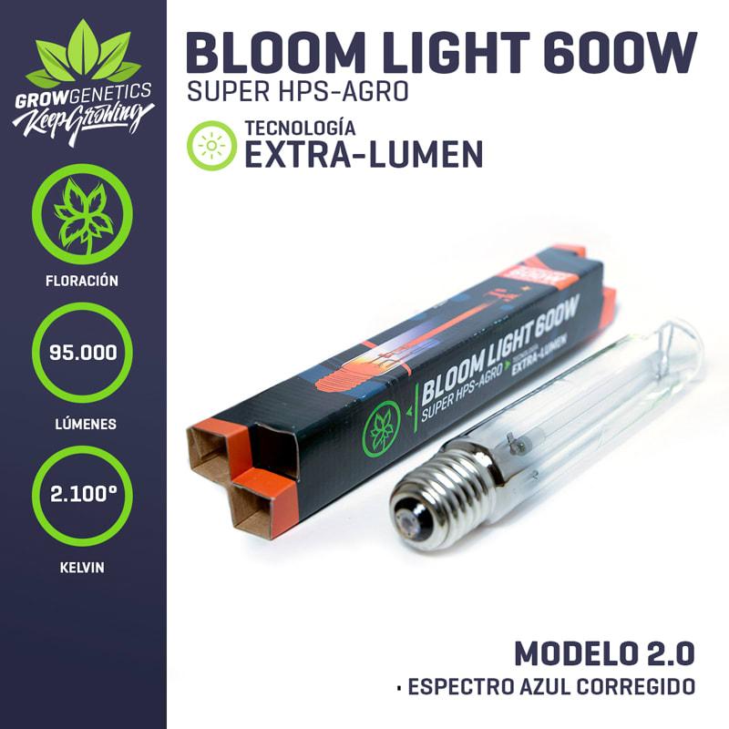 Grow Genetics - Ampolleta Sodio 600 W