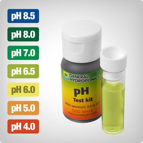 Medidor de PH Kit Test