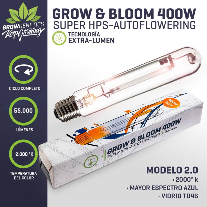 Grow Genetics Grow & Bloom 400w
