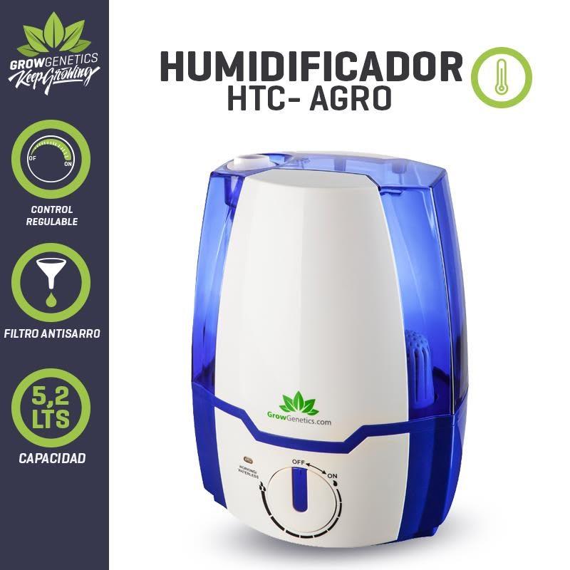 Grow Genetics - Humidificador Ultrasónico 5.2 lts