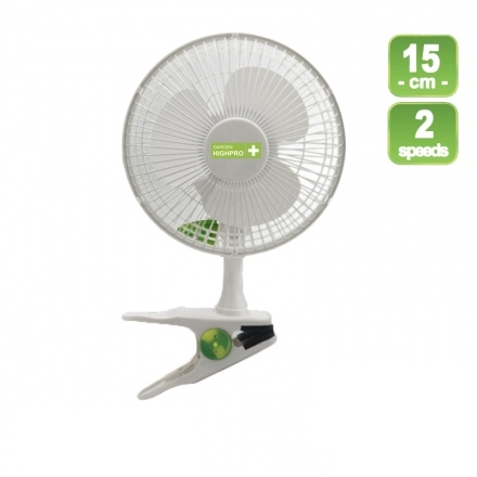Garden Highpro - Ventilador 2 velocidades 15 watts
