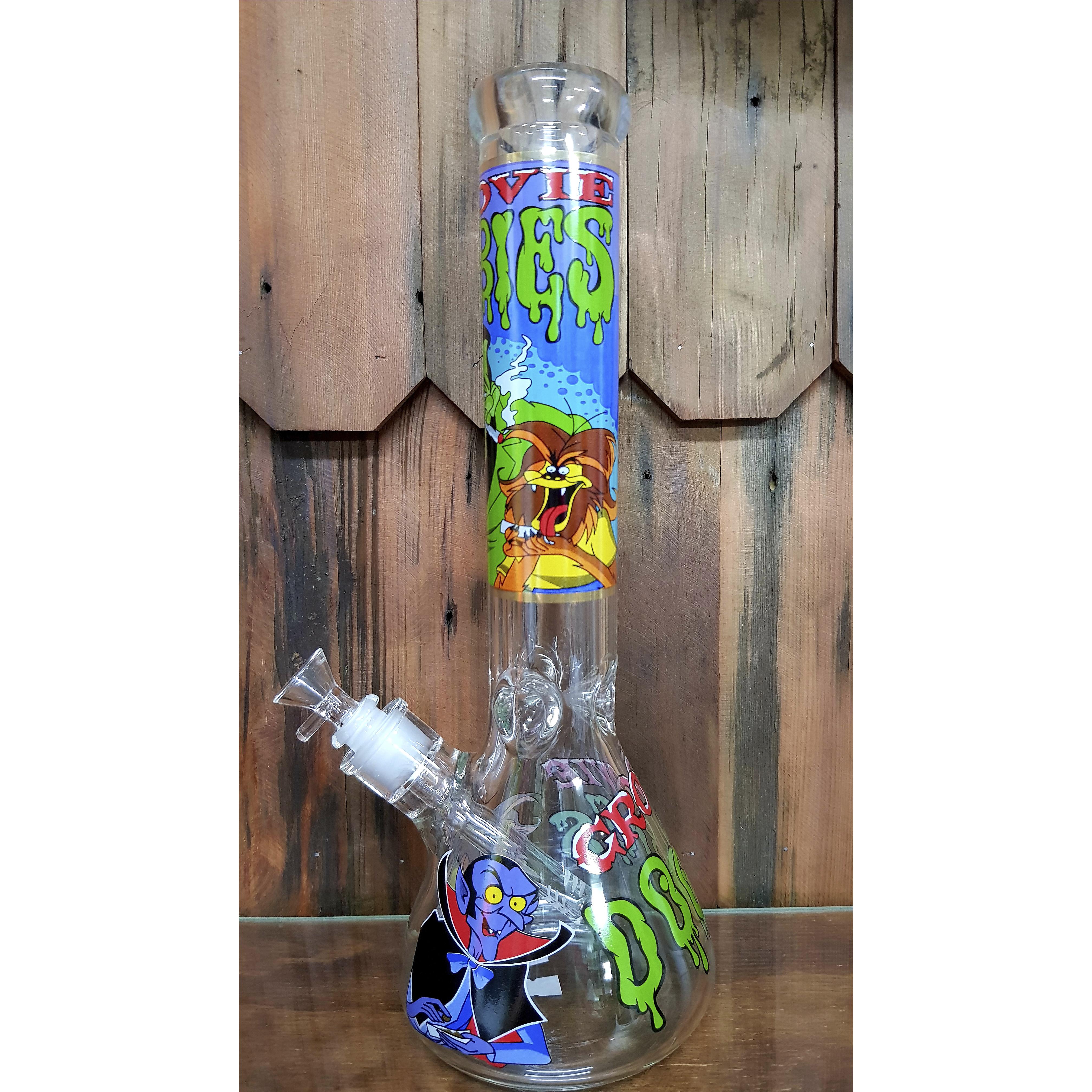 Bong Beaker 35 cm Monstruos