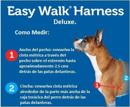 Arnés Deluxe Easy Walk Ocean/Black