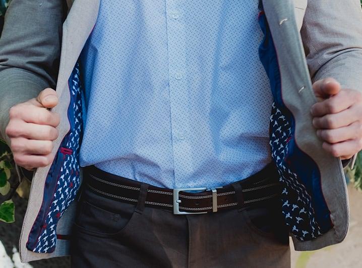 Cinturones Reversibles 100% Cuero