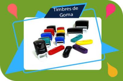 Timbres de Goma