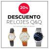 20% de Descuento en Relojes Q&Q