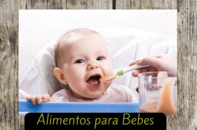 alimentos para bebe