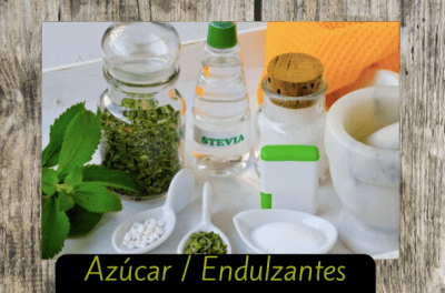 azucar endulzantes