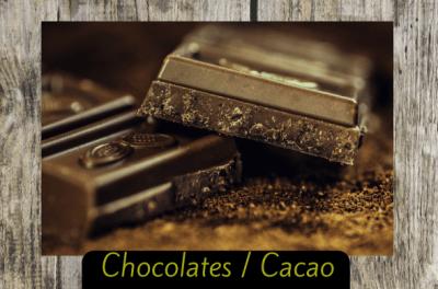 chocolates cacao