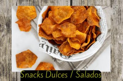 snacks dulces y salados