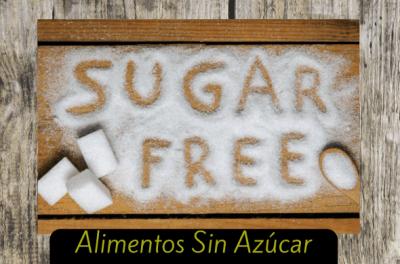 alimentos sin azucar