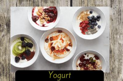 yogourt natural y vegetal