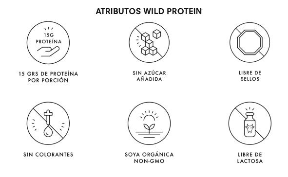 Caja Barra de Cereales Chocolate Maní (16 Unidades) (Wild Protein 45 Gr.)    greenconexion