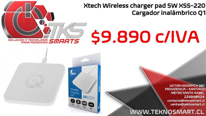 https:  teknosmart.bsalemarket.comcargador inalambrico xtech vss 220