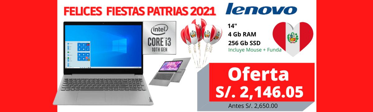 laptop lenovo ideapad 3 14iil05 core i3 1005g1 14 hd 4gb 256 gb freedos 1 2ghz t espanol f6