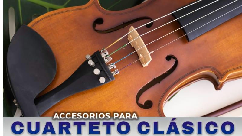 accesorios para cuarteto clasico