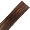 Lamina de Black Walnut de 430 x 90 x 1 / 2mm