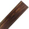 Lamina de Black Walnut de 430 x 90 x 1 / 2mm