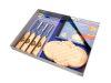 Set Gubias-Formones-Buriles Gubias TC 4Pcs.Madera+DVD.Mod 3435 SB